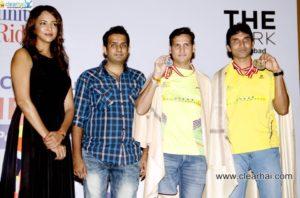 Felicitation of Anand Kumar and Girish Sharma